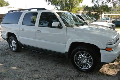2005 chevy suburban 4x4 z71 fully loaded super nice reduced for sale in brooksville florida. Black Bedroom Furniture Sets. Home Design Ideas