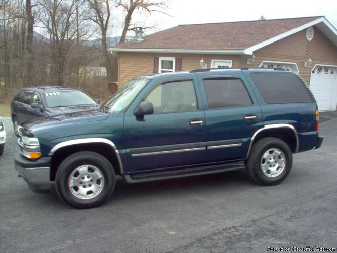 2005 chevy tahoe lt for sale in duncansville pennsylvania classified. Black Bedroom Furniture Sets. Home Design Ideas