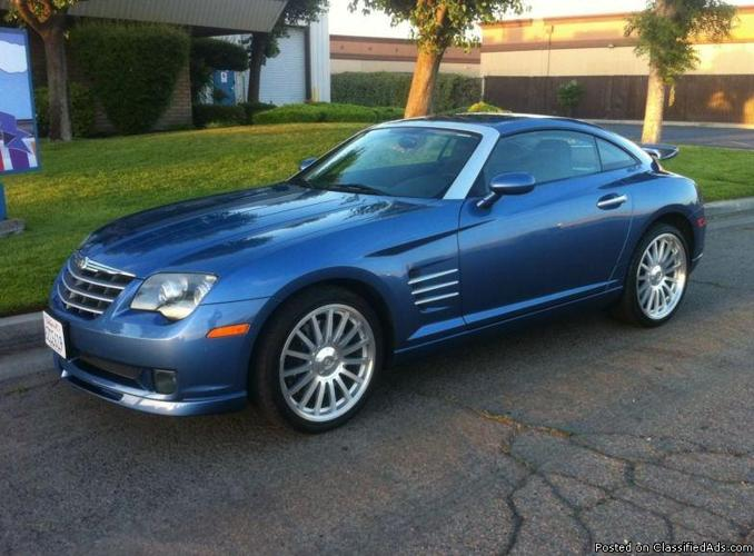 2005 chrysler crossfire srt6 for sale in california city california classified. Black Bedroom Furniture Sets. Home Design Ideas