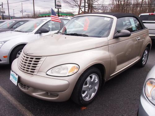 2005 chrysler pt cruiser convertible touring for sale in beemerville new jersey classified. Black Bedroom Furniture Sets. Home Design Ideas