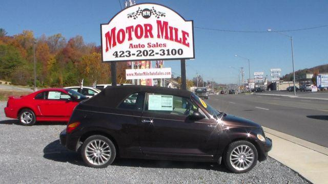2005 chrysler pt cruiser dream cruiser convertible automatic w 99k for sale in johnson city. Black Bedroom Furniture Sets. Home Design Ideas