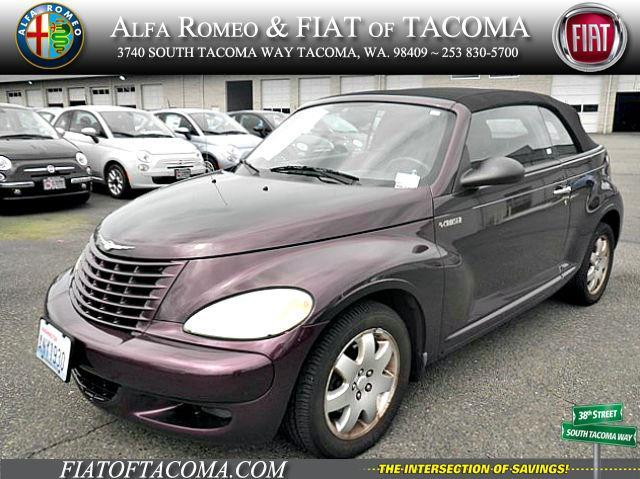 2005 chrysler pt cruiser touring 2dr touring turbo convertible for sale in tacoma washington. Black Bedroom Furniture Sets. Home Design Ideas