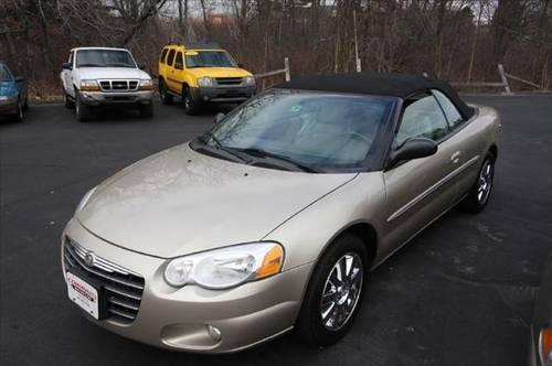 2005 chrysler sebring convertible limited for sale in plaistow new hampshire classified. Black Bedroom Furniture Sets. Home Design Ideas