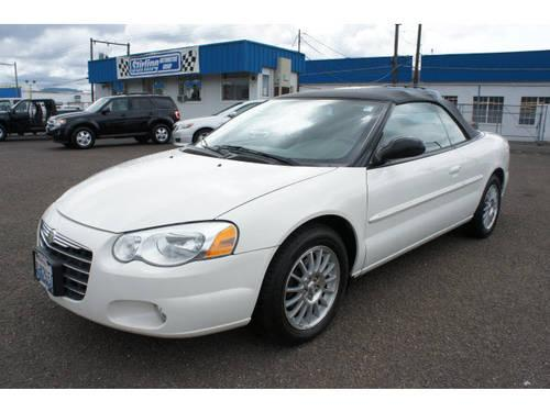 2005 chrysler sebring convertible touring for sale in longview washington classified. Black Bedroom Furniture Sets. Home Design Ideas