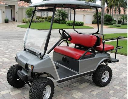 2005 Club Car Golf Cart--...--