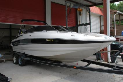 2005 Crownline 240ex Deck Boat For Sale In Buford Georgia