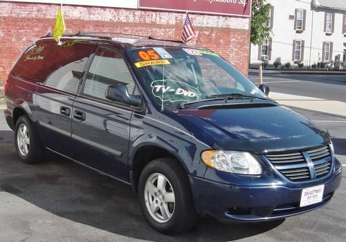 2005 Dodge Grand Caravan Se Sport Low Miles Tv Dvd