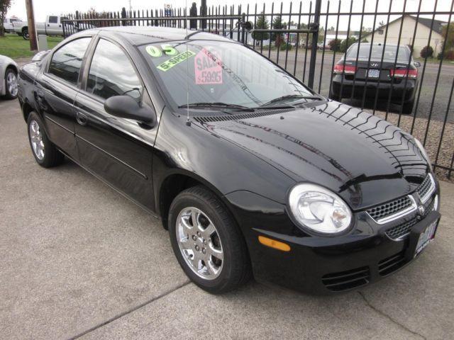 2005 Dodge Stratus Sxt >> 2005 Dodge Neon SXT - Low miles shiny black paint and dark interior for Sale in Albany, Oregon ...