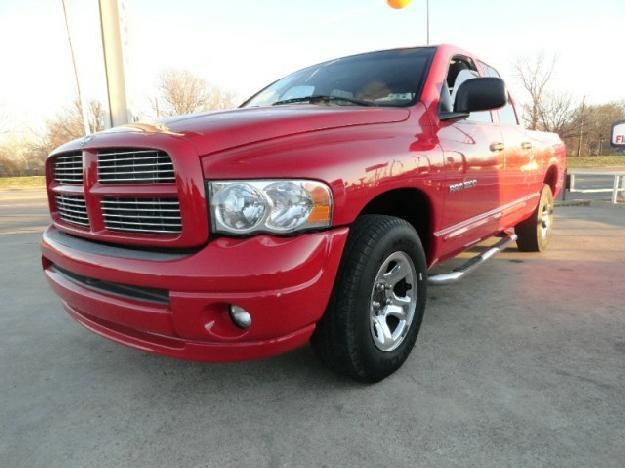 2005 dodge ram 1500 4dr quad cab 140 5 wb st for sale in garland texas classified. Black Bedroom Furniture Sets. Home Design Ideas