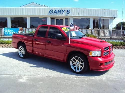 2005 dodge ram 1500 pickup srt 10 for sale in north topsail beach. Cars Review. Best American Auto & Cars Review