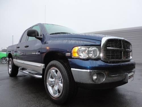 2005 dodge ram 1500 pickup truck quad 160 5wb 4x4 st for sale in guthrie north carolina. Black Bedroom Furniture Sets. Home Design Ideas