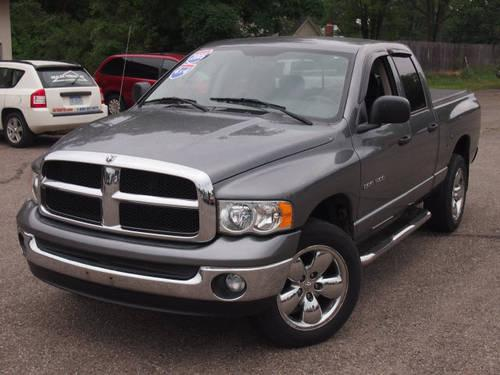 2005 Dodge Ram 1500 Quad Cab 4x4 Truck Slt For Sale In