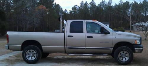 2005 dodge ram 2500 diesel 4x4 for sale in stella north carolina classified. Black Bedroom Furniture Sets. Home Design Ideas
