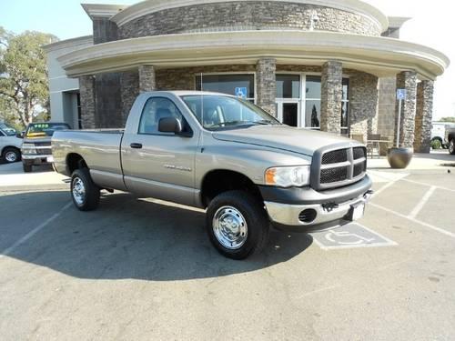 2005 dodge ram 2500 pickup truck slt 4x4 5 7l hemi only 36k miles for sale in rocklin. Black Bedroom Furniture Sets. Home Design Ideas