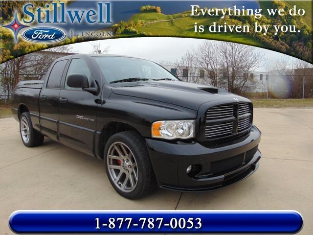 2005 Dodge Ram Pickup 1500 SRT-10 Base 4dr Quad Cab RWD SB