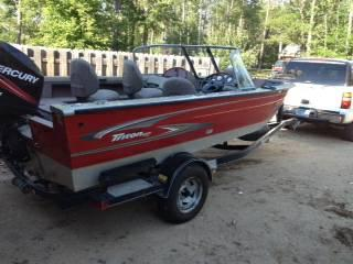 2005 fishing boat 17 39 17 foot 2005 fishing boat in for Used fishing boats for sale mn