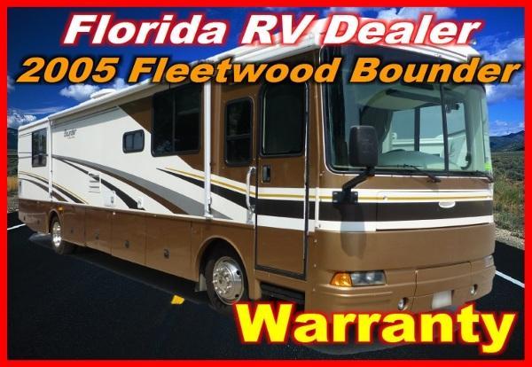 2005 fleetwood bounder 37 u for sale in port charlotte florida classified. Black Bedroom Furniture Sets. Home Design Ideas