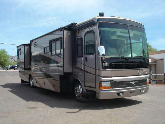 2005 Fleetwood Discovery Four Slide Outs Diesel Pusher