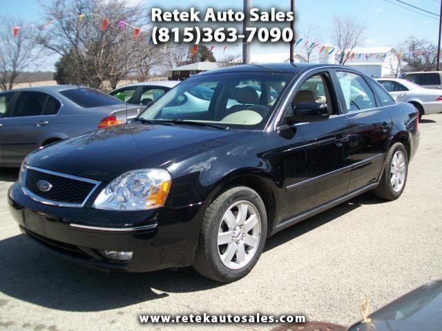 2005 ford 500 sel awd for sale in alden illinois. Black Bedroom Furniture Sets. Home Design Ideas