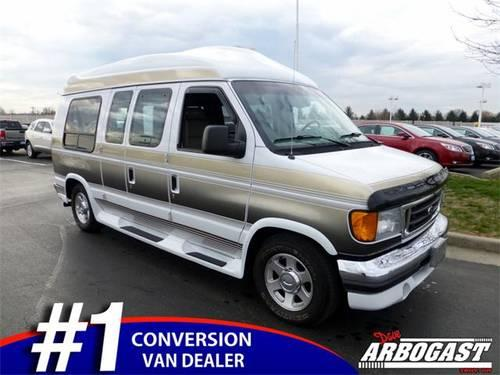 2005 ford e 150 van conversion for sale in troy ohio. Black Bedroom Furniture Sets. Home Design Ideas
