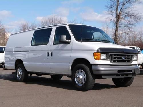 2005 ford e 250 van cargo extended extended cargo van for sale in fairless hills pennsylvania. Black Bedroom Furniture Sets. Home Design Ideas
