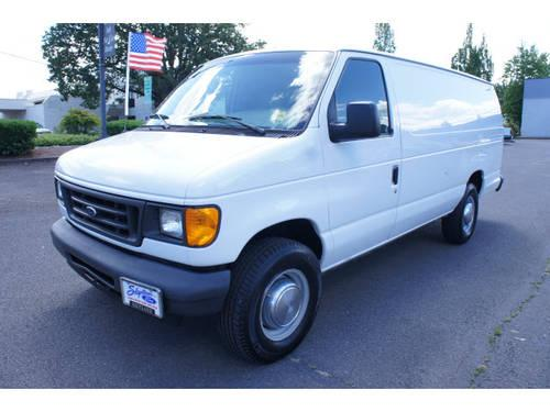 2005 Ford E Series Cargo Extended Van E 350 SD for Sale in