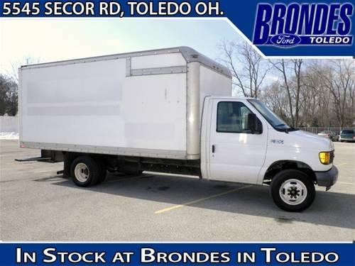 2005 ford econoline commercial cutaway specialty 15 39 box delivery van for sale in toledo ohio. Black Bedroom Furniture Sets. Home Design Ideas