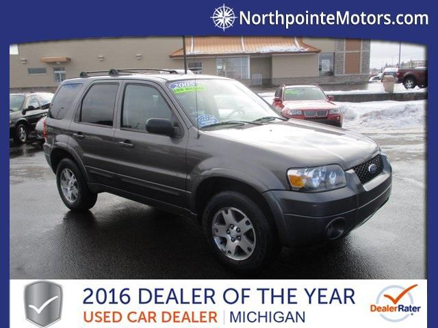 2005 ford escape limited awd limited 4dr suv for sale in for North point motors traverse city