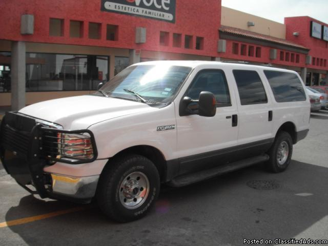 2005 ford excursion armored b6 for sale in nemo texas classified. Black Bedroom Furniture Sets. Home Design Ideas