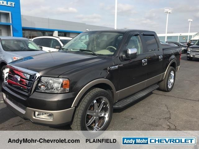2005 ford f 150 lariat 4dr supercrew lariat rwd styleside 5 5 ft sb for sale in cartersburg. Black Bedroom Furniture Sets. Home Design Ideas