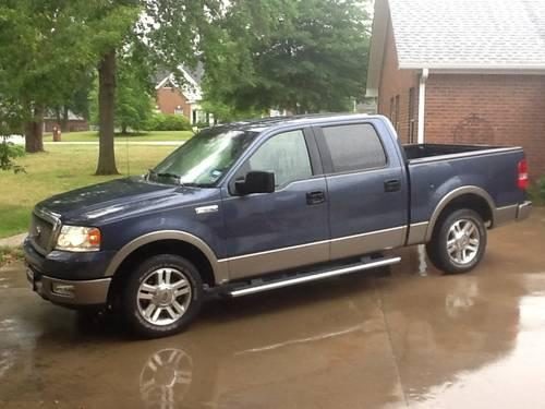 2005 ford f 150 lariat supercrew 2wd f150 93k miles for sale in longview texas classified. Black Bedroom Furniture Sets. Home Design Ideas