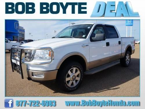 2005 ford f 150 supercrew 4x4 king ranch for sale in brandon mississippi classified. Black Bedroom Furniture Sets. Home Design Ideas