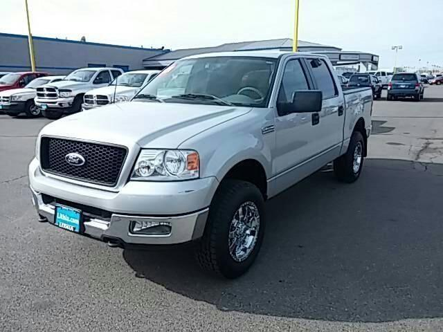 2005 ford f 150 supercrew 4x4 styleside 5 5 ft box 139 in wb for sale in hollister idaho. Black Bedroom Furniture Sets. Home Design Ideas