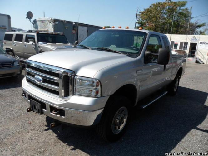 2005 ford f 250 super duty 4x4 ex cab for sale in brooklyn new york classified. Black Bedroom Furniture Sets. Home Design Ideas