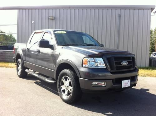 2005 ford f150 4wd crew cab pickup fx4 for sale in fort wayne indiana classified. Black Bedroom Furniture Sets. Home Design Ideas