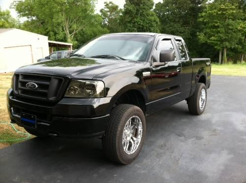 2005 Ford F150 Black Extended Cab For Sale In Lafayette