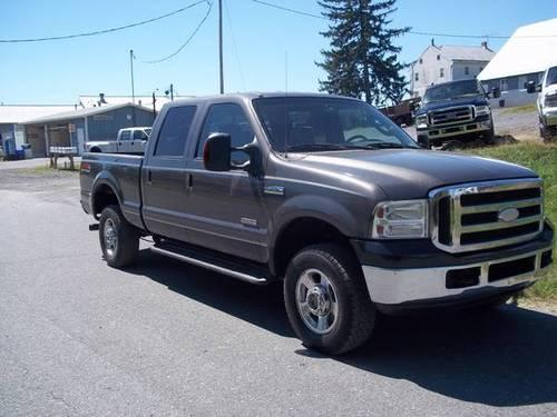 2005 ford f250 crew cab diesel lariat 4x4 for sale in woodsboro maryland classified. Black Bedroom Furniture Sets. Home Design Ideas