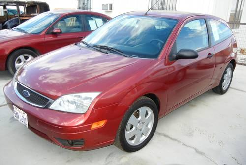 2005 ford focus zx3 for sale in hi vista california. Black Bedroom Furniture Sets. Home Design Ideas