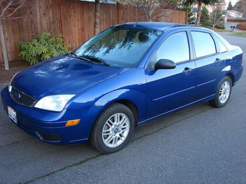 2005 ford focus zx4 s sedan for sale in seattle. Black Bedroom Furniture Sets. Home Design Ideas