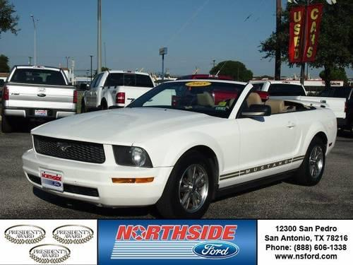2005 ford mustang convertible for sale in san antonio texas classified. Black Bedroom Furniture Sets. Home Design Ideas