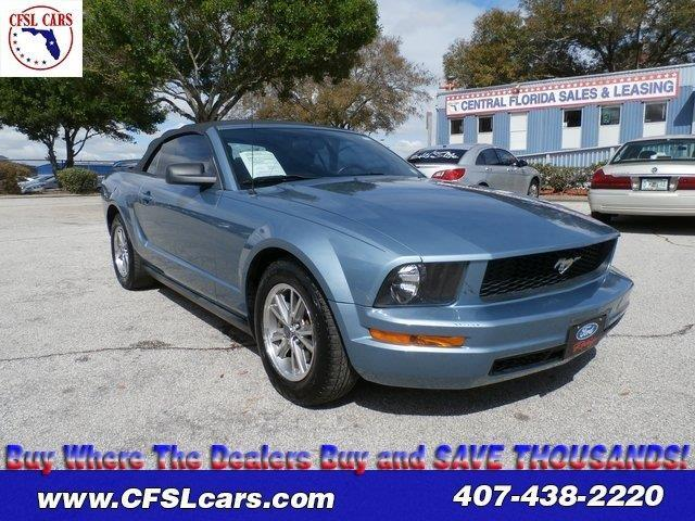 2005 ford mustang v6 deluxe deluxe 2dr convertible for sale in orlando florida classified. Black Bedroom Furniture Sets. Home Design Ideas