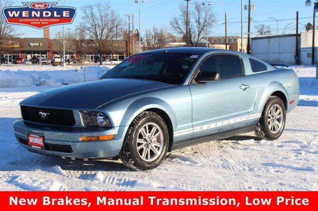 2005 ford mustang v6 deluxe deluxe 2dr coupe for sale in spokane washington classified. Black Bedroom Furniture Sets. Home Design Ideas