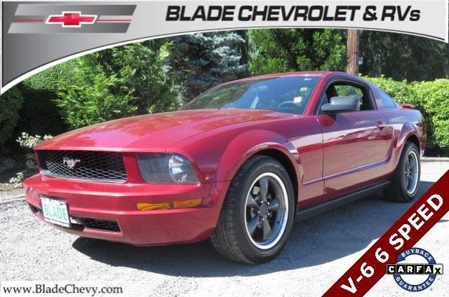 2005 ford mustang v6 deluxe deluxe 2dr fastback for sale in mount vernon washington classified. Black Bedroom Furniture Sets. Home Design Ideas