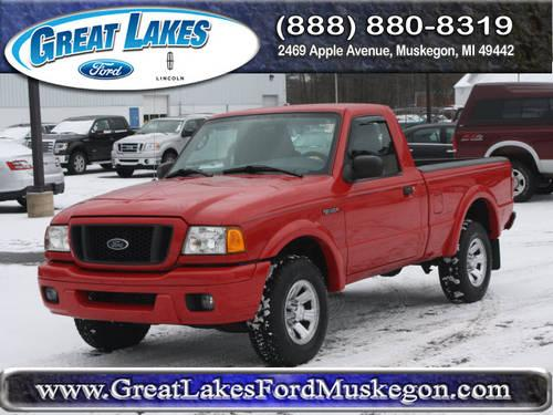 2005 ford ranger pickup truck 4x4 xl for sale in meskegon michigan classified. Black Bedroom Furniture Sets. Home Design Ideas