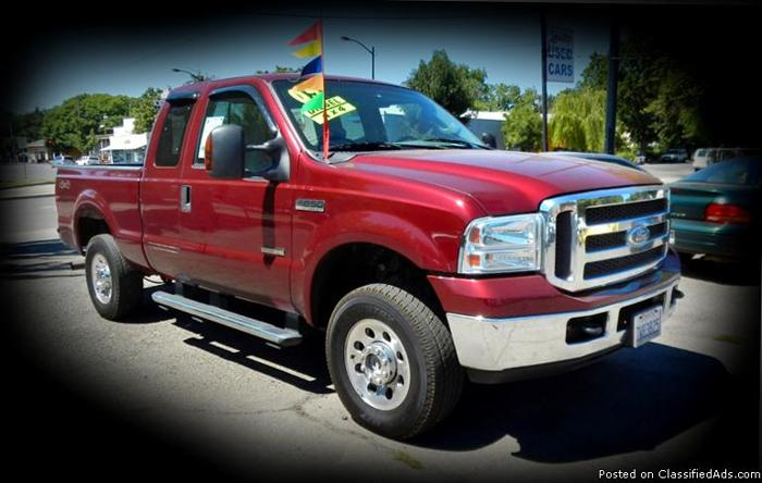 2005 ford super duty f250 xlt 4x4 truck for sale in chico california classified. Black Bedroom Furniture Sets. Home Design Ideas