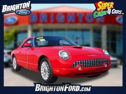2005 ford thunderbird 2 door convertible for sale in brighton michigan classified. Black Bedroom Furniture Sets. Home Design Ideas
