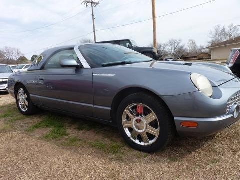 2005 ford thunderbird 2 door convertible for sale in seminole oklahoma classified. Black Bedroom Furniture Sets. Home Design Ideas