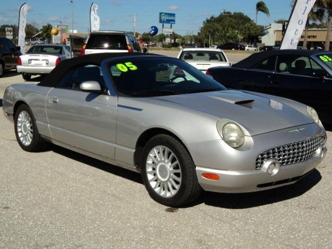 2005 ford thunderbird 2dr convertible deluxe for sale in punta gorda florida classified. Black Bedroom Furniture Sets. Home Design Ideas