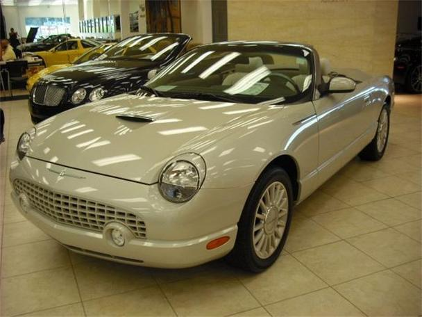 2005 ford thunderbird for sale in greensboro north carolina classified. Black Bedroom Furniture Sets. Home Design Ideas