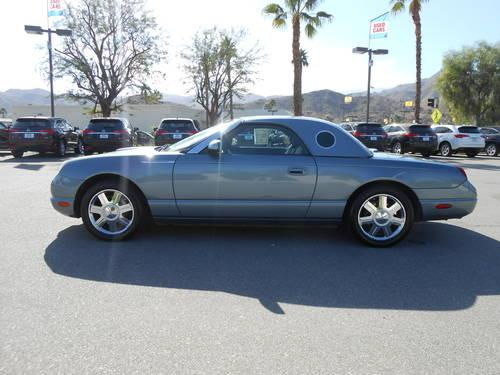 2005 ford thunderbird convertible for sale in cathedral city california classified. Black Bedroom Furniture Sets. Home Design Ideas